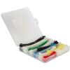 DELOCK Kábelkötegelőket tartalmazó doboz, 600 darabos, színes