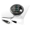 DELOCK USB 3.0 kártyaolvasó fekete asztalba építhető kártyaolvasó