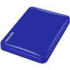 Toshiba Külső HDD 2.5' - 1TB Canvio Connect II Kék (USB3.0, ~5Gbps, NTFS/HFS+, fényes, 10 GB Cloud Storage)