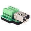 DELOCK FireWire 6pin -> Terminal block 8pin F/F adapter