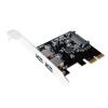 LogiLink PCI-E x1 2 USB3.1 adapter