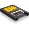 DELOCK IDE 2.5' 44pin -> 2db Compact Flash M/F adapter