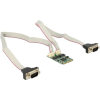 DELOCK mini PCI-E x1 2 portos soros port IO vezérlő