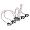 DELOCK mini PCI-E x1 -> 4 portos soros port IO vezérlő