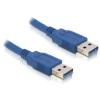 DELOCK USB 3.0 A M/M adatkábel 2m kék