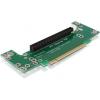 DELOCK PCI-E x16 Riser card (90° bal, 2U)