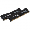 Kingston HyperX Savage Black 8GB 2666MHz DDR4 memória CL13 Kit of 2 XMP