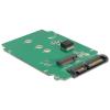 DELOCK 2db mSATA -> SATA F/M konverter RAID 0, 1, JBOD