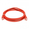 LogiLink CAT6A S/FTP Patch Cable PrimeLine AWG26 PIMF LSZH red 3,00m