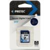 Pretec 2GB SecureDigital SD memóriakártya