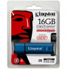 Kingston 16GB DataTraveler Vault Privacy 3.0 (Management Ready) vízálló USB3.0 pendrive kék