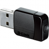 D-Link Wireless AC DualBand USB Micro Adapter- 2.4GHz and 5GHz dual band USB Adapter.- Support 802.11ac draft standard.-