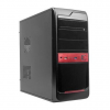 Gembird case CCC-D1-04 Midi Tower ATX without power supply, black