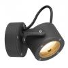 SLV-Big White SITRA 360 WL kültéri IP44, GX53 fali lámpatest, antracit - Big White SLV 231515
