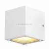 SLV-Big White SITRA CUBE kültéri IP44, GX53 fali lámpatest, fehér - Big White SLV 232531