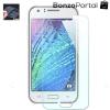 Kijelzővédő fólia - Samsung Galaxy J1 kompatibilis, törlőkendővel