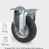 Tömörgumis kerék FIX villában (100)