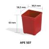 Csavar rendszerező doboz APE 507