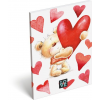 Macis notesz A/6 Love Teddy