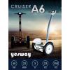 yesway A6 Cruiser   Mikrochip vezérelt önegyensúlyozó elektromos jármű