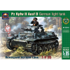 Ark Models Pz.Kpfw.II Ausf.D German light tank makett Ark Models AK35016