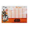 Star Wars VII. órarend nagy 238x155mm Droid