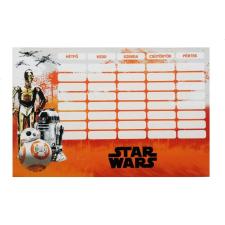 Star Wars VII. órarend nagy 238x155mm Droid órarend