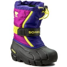 SOREL Hótaposó SOREL - Childrens Flurry NC1885-484 Grape Juice/Bright Plum