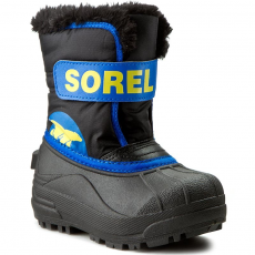 SOREL Hótaposó SOREL - Childrens Snow Commander NC 1877-011 Black/Super Blue