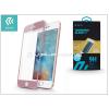 Devia Apple iPhone 6/6S üveg képernyő- + Crystal hátlapvédő fólia - Devia Jade Full Screen Tempered Glass 0.18 mm - 1 + 1 db/csomag - rose gold