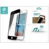 Devia Apple iPhone 6/6S üveg képernyő- + Crystal hátlapvédő fólia - Devia Jade 2 Full Screen Tempered Glass Glossy - 1 + 1 db/csomag - black