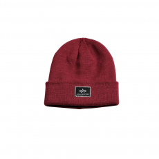 Alpha Industries X-Fit Beanie - burgundy sapka