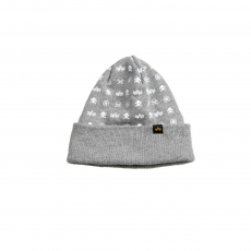 Alpha Industries All Over Beanie - szürke sapka