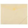 DONAU Irattartó tasak, 240x186x0,18, A5, PP, patentos, DONAU, sárga (D8547S)