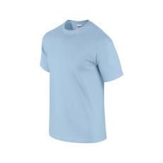 GILDAN ultra előmosott pamut póló, light blue