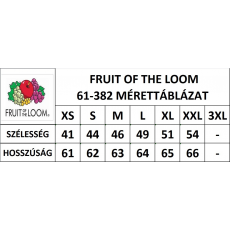 Fruit of the Loom FoL Lady-Fit rövid ujjú, V-nyaku póló, light pink