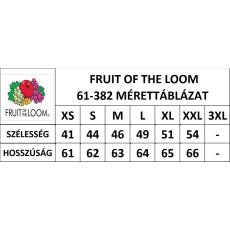 Fruit of the Loom FoL Lady-Fit rövid ujjú, V-nyaku póló, light pink