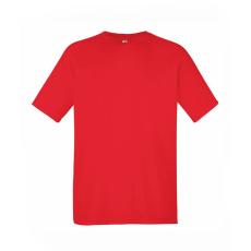 Fruit of the Loom Rövid ujjú férfi Performance póló, piros