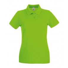Fruit of the Loom Női premium piké polo, lime