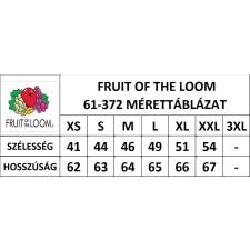 Fruit of the Loom Fit Valueweight Női kereknyaku póló, piros női póló