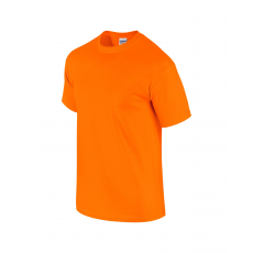 GILDAN ultra előmosott póló, safety orange