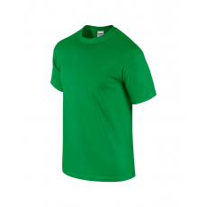 GILDAN ultra előmosott pamut póló, irish green