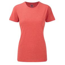 RUSSEL Karcsúsított fazonú, Russell Női póló, Red Marl