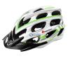 Meteor Kask rowerowy Meteor HB23 In-Mold 24518 fehér-zöld