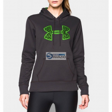 Under Armour Blúz Under Armour Storm Fleece Printed Big Logo HoodyW 1260127-097