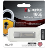 Kingston Pednrive, 16GB, USB 3.0, jelszavas védelemmel, KINGTSON DTLPG3, ezüst (UK16GPG3E)