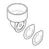 Medela Szelepfej + 2 db membrán Medela mellszívókhoz