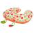 Clevamama Szoptatós párna, 10 az 1-ben, narancs, derék öv, babaülés-betét, bizt. öv rögzítő, játékokkal, Clevamama