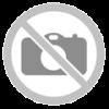 FDZN 5020-AL fémvázas asztal, üveglappal