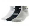 Nike zokni Nike Cotton Cushion Quarter 3pak Junior SX4722-967 gyerek zokni